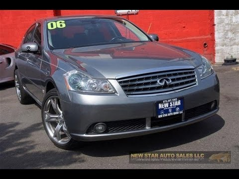 2006 Infiniti M35x Awd Sedan Youtube