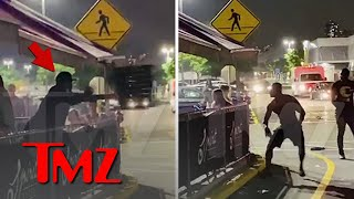 50 Cent Throws Table & Chairs During Fight In New Jersey | TMZ