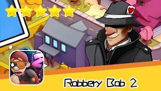 Robbery Bob 2 Secret Agent Suit Day15 Walkthrough Recommend index five stars