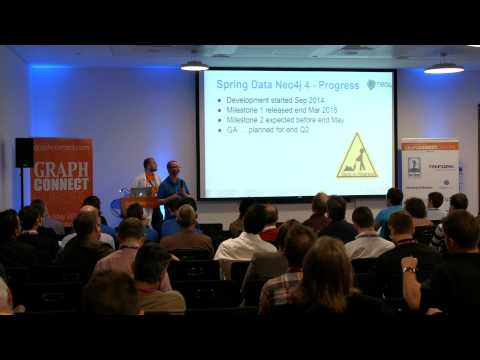 GC Europe 15 / Vince Bickers, GraphAware/Michael Hunger, Neo Technology - Spring Data Neo4j