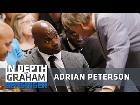 Adrian Peterson on child abuse charges