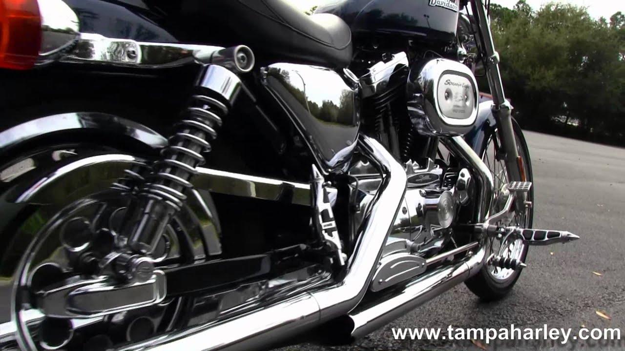 Harley Davidson: Used 2001 Harley-Davidson XL1200C Sportster 1200 Custom
