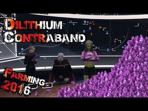 Dilithium and Contraband farming made easy, 2016 - Star Trek