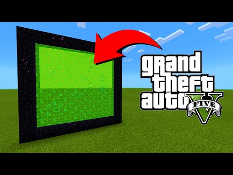 How To Make A Portal To The Grand Theft Auto 5 Dimension In Minecraft!