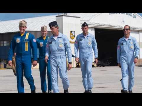 PAFUSTour, étape 6 : Diaporama rencontre avec les Blue Angels