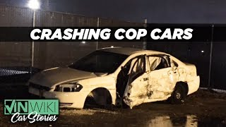 What happens when you destroy your police car?