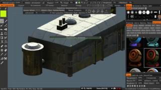Speed texturing in 3D-Coat