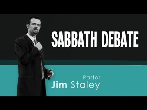 Jim Staley - SABBATH DEBATE With Chris Rosebrough at Passion For Truth