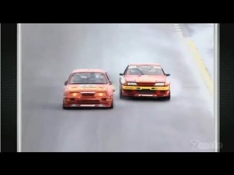 1992 Bathurst 1000 - Nissan GTR vs Ford Sierra [HD]