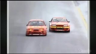 1992 Bathurst 1000 - Nissan GTR vs Ford Sierra [HD]