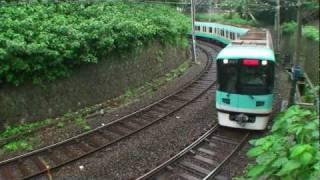 京阪電車 ~京津線の急カーブ~