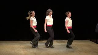 French Canadian step dance 2016 Percussive Dance Extravaganza