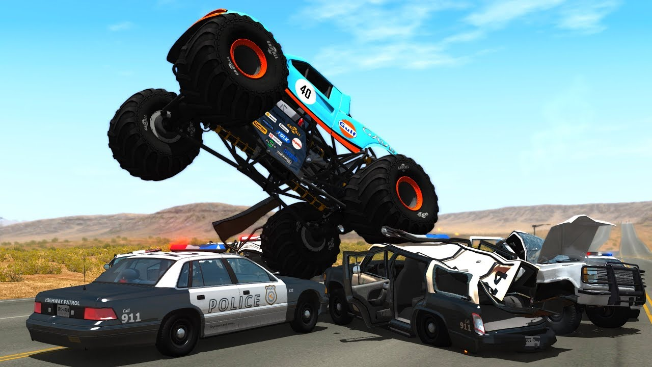Police Car Chases And Crashes