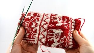 Christmas Socks #1 - Cast On