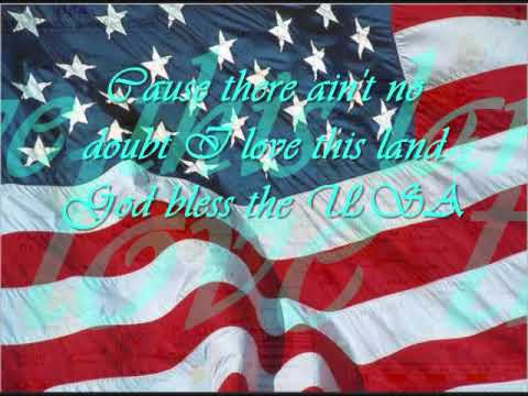 Proud To Be An American By: Beyonce (with Lyrics)