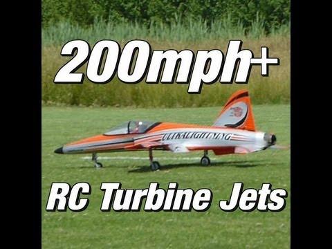 200mph+ RC Turbine Jets - Fly it like you stole it!!!