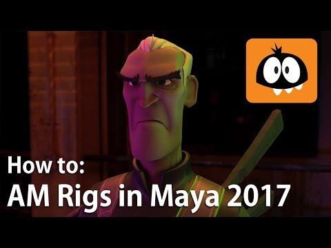 Bringing Animation Mentor Characters into Maya 2017