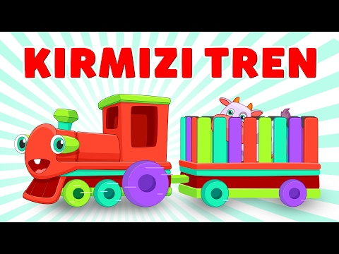Can you guess, what's my load? | Learning Animals - Turkish Nursery Rhymes | Red Train 4K