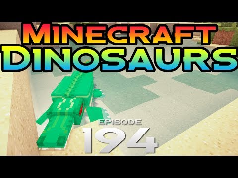 Minecraft Dinosaurs! - Episode 194 - Fossil Hunting!