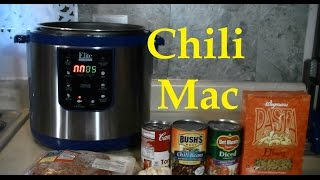 A Pressure Cooker Chili Mac And Cheese