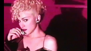 Madonna - Anglia TV - Report on the making of the film Dick Tracy - 1990 - PART ONE