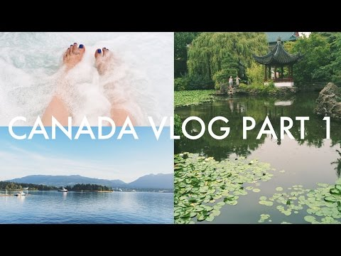 Canada Vlog Part 1: Vancouver Adventures around Gas Town and China Town | Zoey Olivia