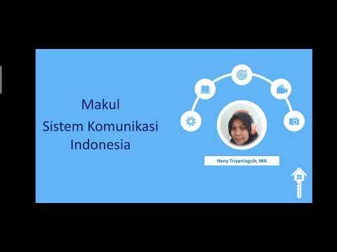 Dinamika Sistem Komunikasi Indonesia