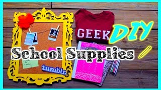 Back to school: DIY School Supplies Thumbnail