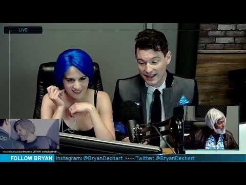 Bryan Dechart (Connor's actor) plays Detroit: Become Human // Stream #5 - Final Chapters streaming vf