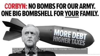 Tories lay in to Jeremy Corbyn with 'tax bombshell' advert