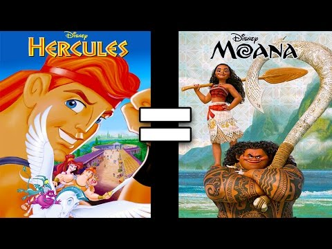 24 Reasons Hercules & Moana Are The Same Movie