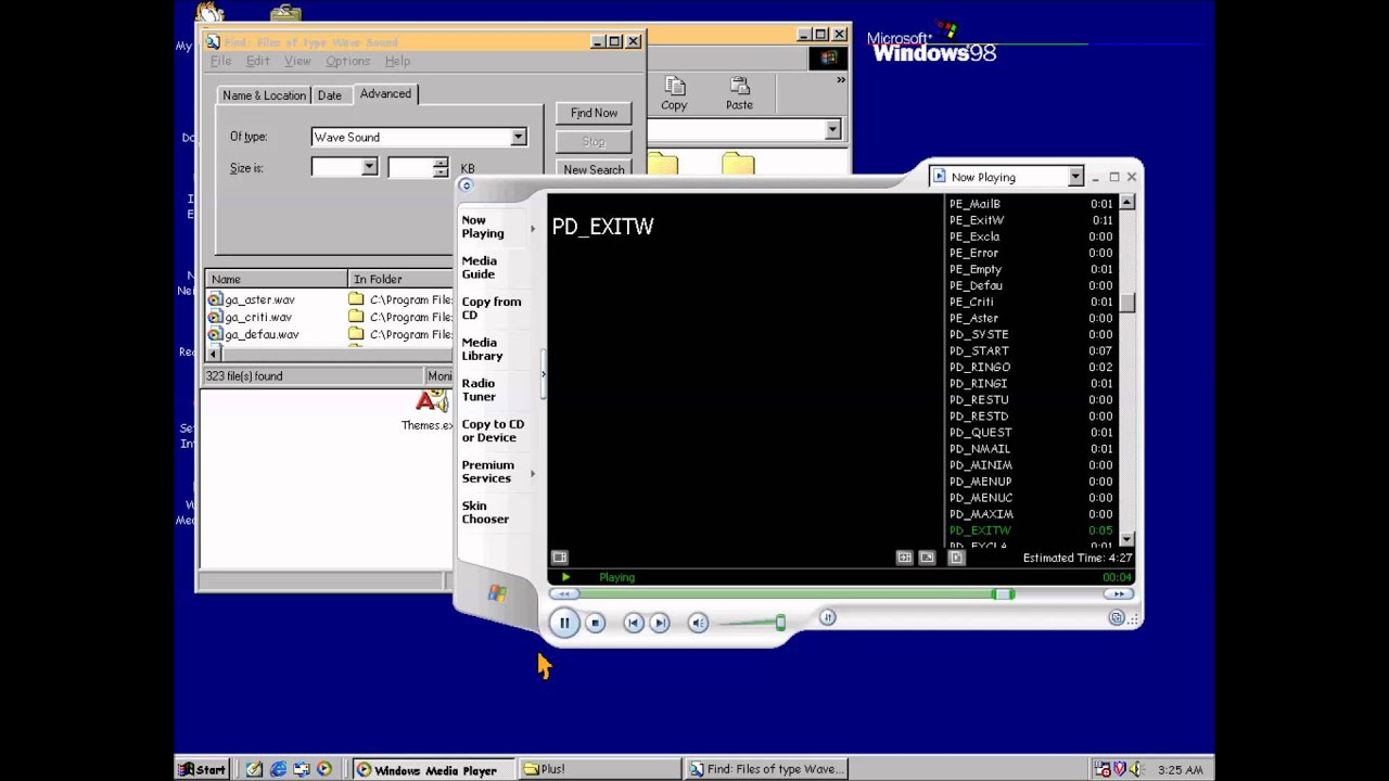 Windows 98 plus theme sounds youtube for Windows 95 startup sound