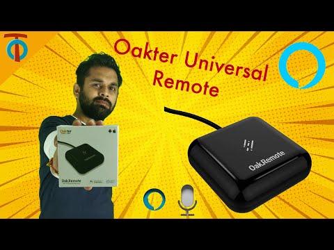 OAKTER Oakremote - WiFi Universal Remote OakRemote V2 | UNBOXING | SETUP | REVIEW |