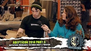 Adepticon Part 3: Battletech, Freeblades, Tectonic Craft & Twisted!