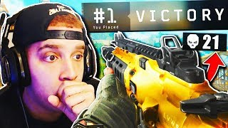 21 KILL SOLO SQUAD WIN!! *INSANE* BLACKOUT GAMEPLAY in Black Ops 4!