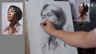 Portrait Drawing with Pencil  techniques