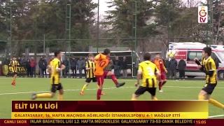 ELİT U14 LİGİ | GALATASARAY - İSTANBULSPOR