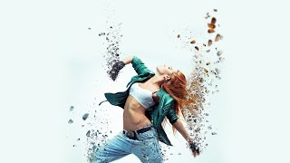 Wie erstelle Partikel-dispersion Effekt in Adobe Photoshop!! tutorial