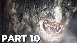 RESIDENT EVIL 8 VILLAGE Walkthrough Gameplay Part 10 - ARMORED LYCAN (FULL GAME)