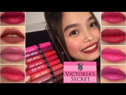 victoria-secret-velvet-matte-lipstick-swatches-&-review--all-10-shades!-|-heart-viray