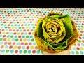 Роза из кленовых листьев Мастер класс Осенний букет из листьев mp3