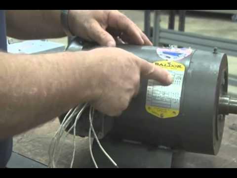 baldor 3hp motor test  youtube