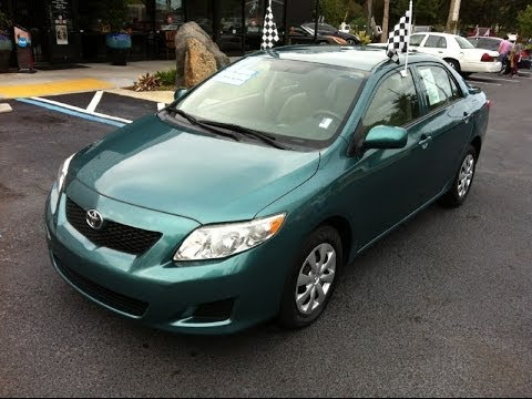 Autoline Preowned 2010 Toyota Corolla LE For Sale Used Walk Around Review  Test Drive Jacksonville
