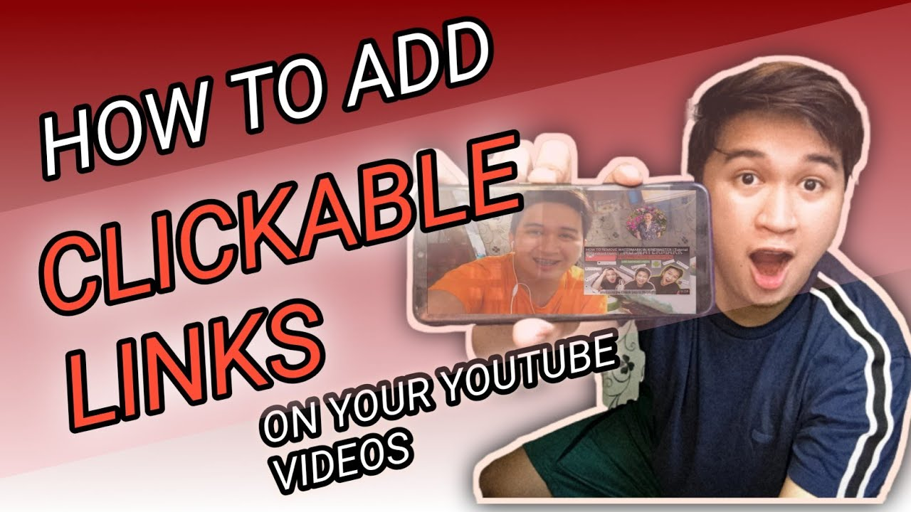 How To Add Clickable Links To Your Youtube Videos With English Subtitle Youtube