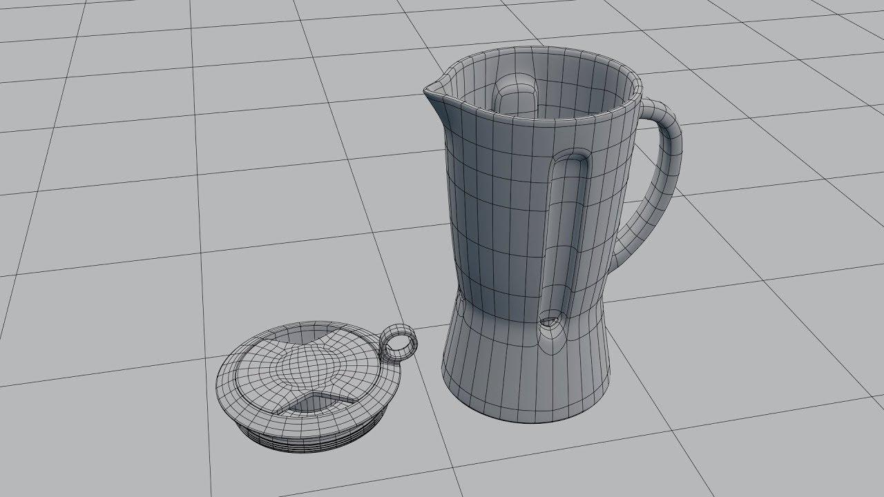 блендер модель из картинки позволяет