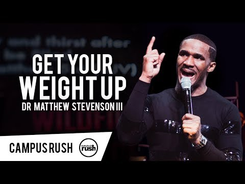 """""""Get Your Weight Up"""" - Dr. Matthew Stevenson in Canada // CAMPUS RUSH WILDFIRE 2018"""