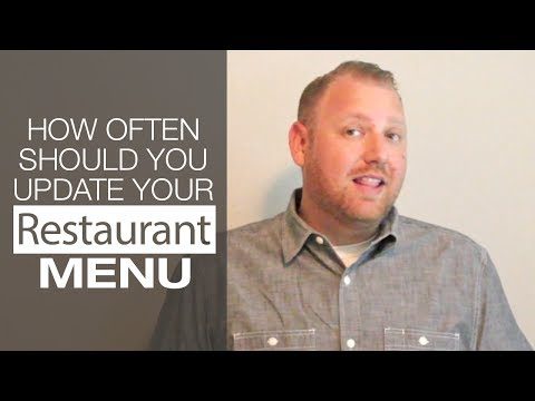wine article How Often Should you Update your Restaurant Menu