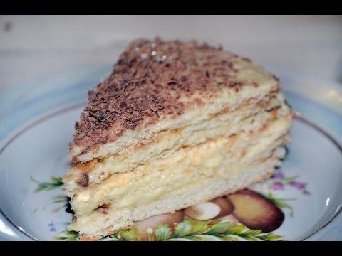 Самый простой рецепт торта со сгущенкой