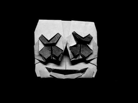 Origami Marshmello Face - Intermediate Tutorial*Read Desciption*