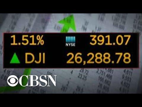 MoneyWatch: Stocks surge after U.S. delays new China tariffs